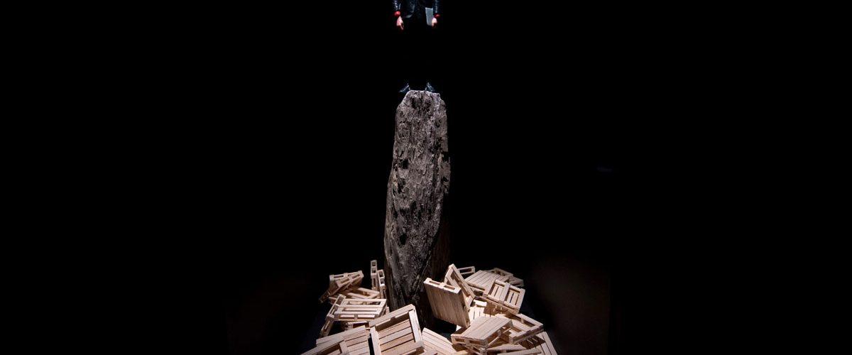 Bedwyr Williams - The Gulch The Curve, Barbican Centre. Photo: Ben Pruchnie /Getty Images